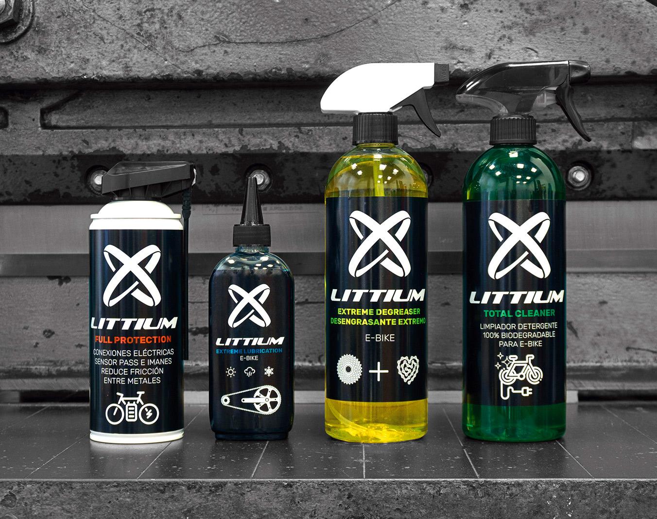 Littium productos mantenimiento cuidado y limpieza