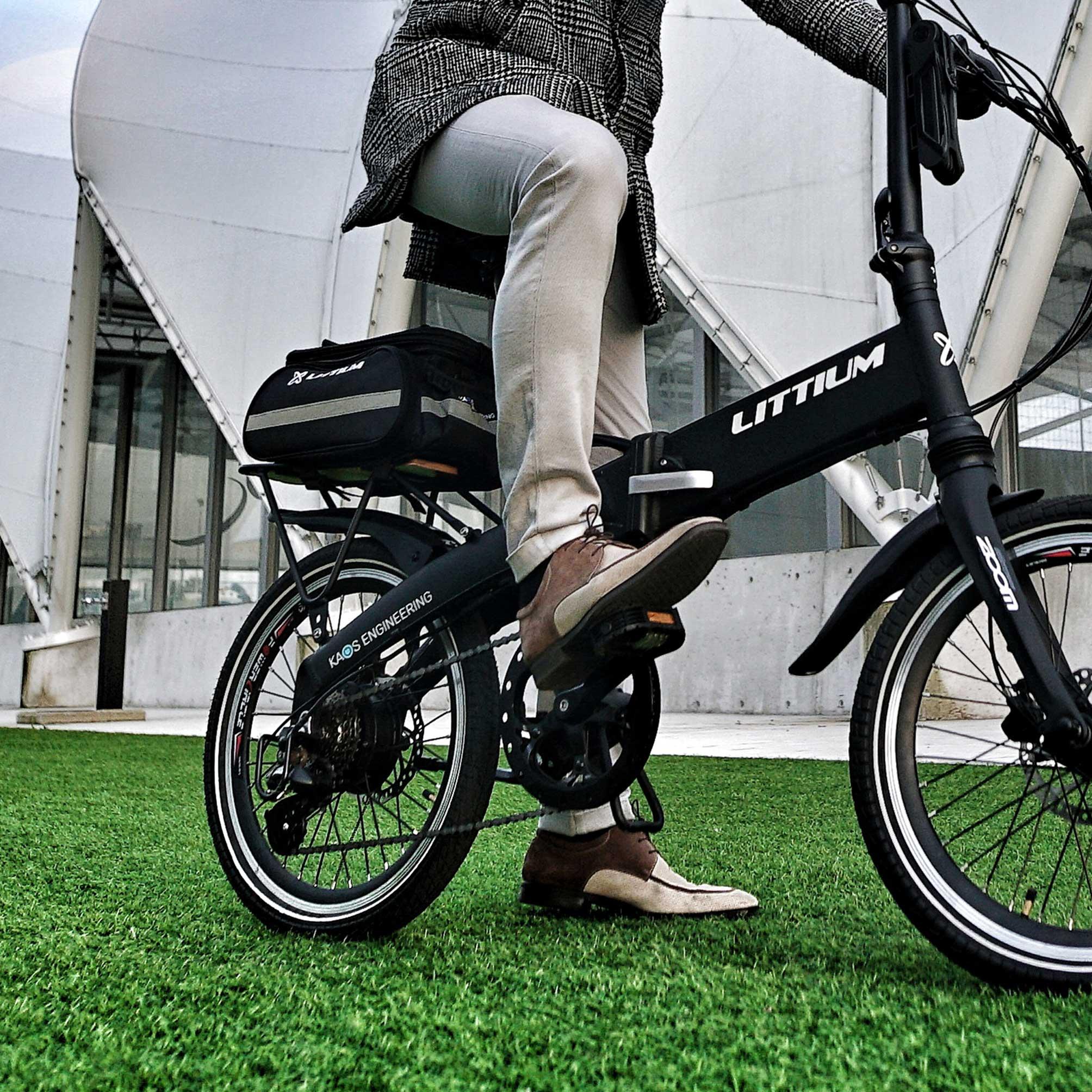 littium accesorios bicicleta bolsa parrilla