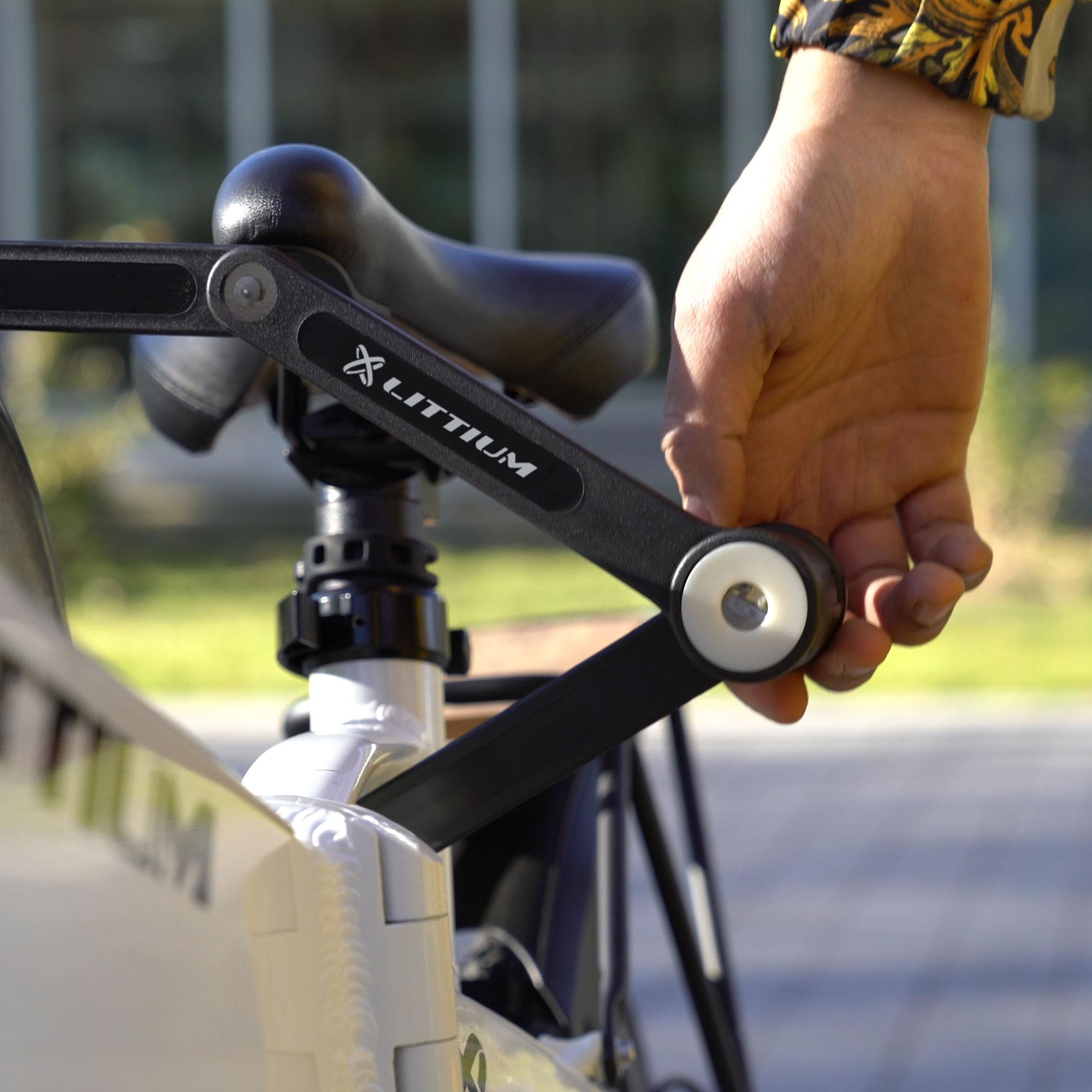 littium accesorios bicicleta candado