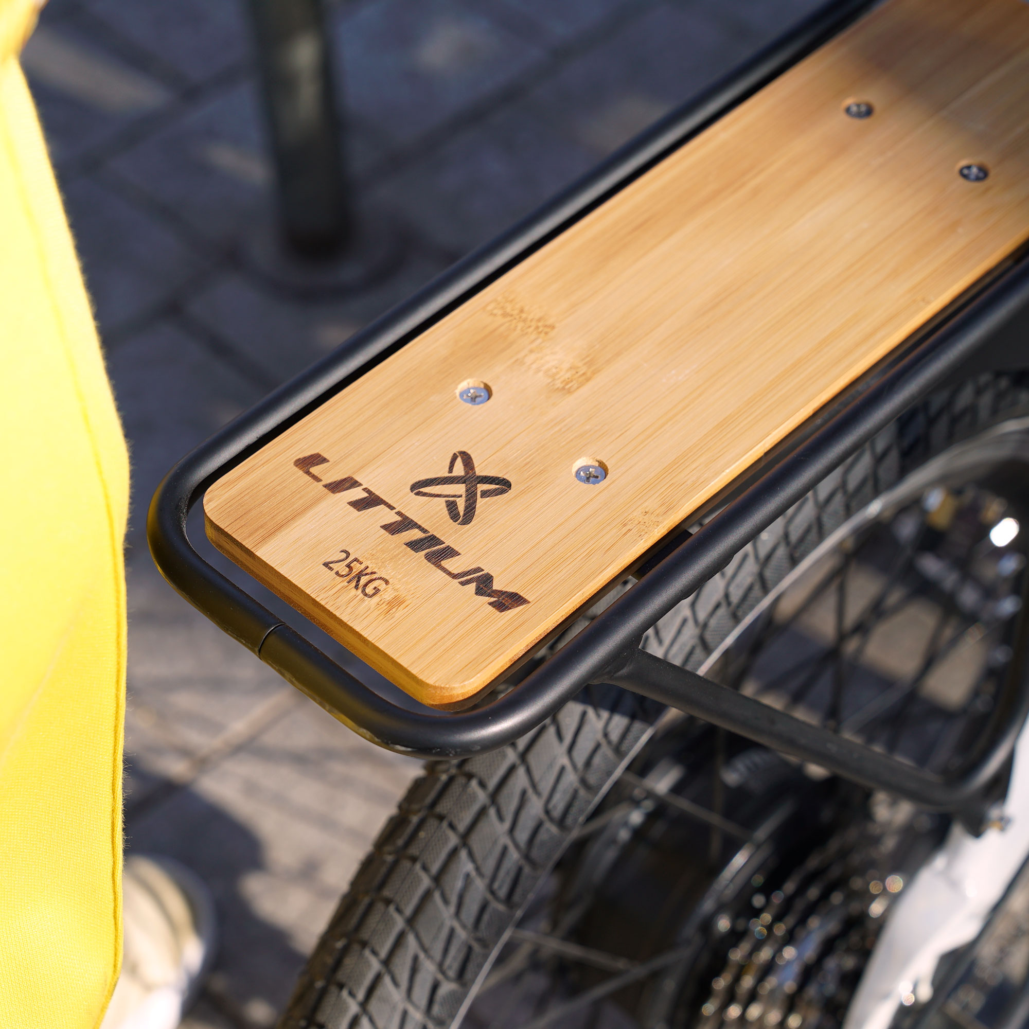 littium accesorios bicicleta parrilla