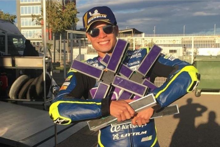 Littium y Eric Granado, en el GP de la Comunitat Valenciana 2019
