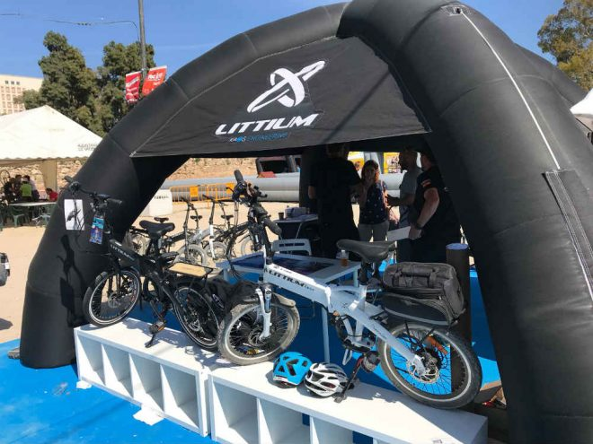 Littium by KAOS triunfa en los E-Bike Days de Valencia
