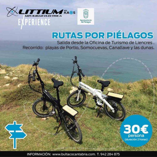 Así es la nueva ruta Littium Experience en Piélagos