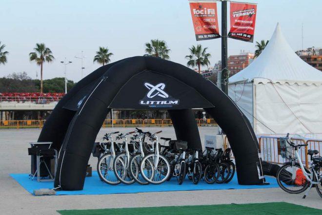 ¡Ven a probar las Littium KAOS en los E-Bike Days de Málaga!