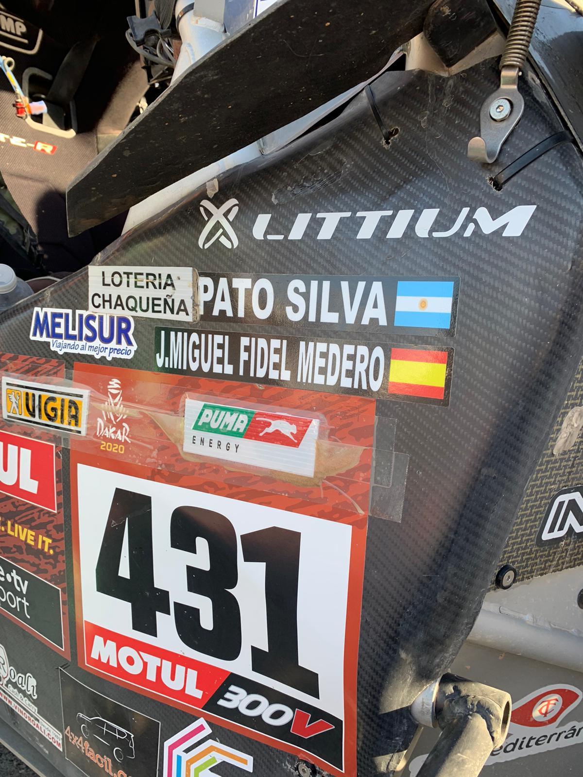 Littium, pleno total en Dakar 2020.