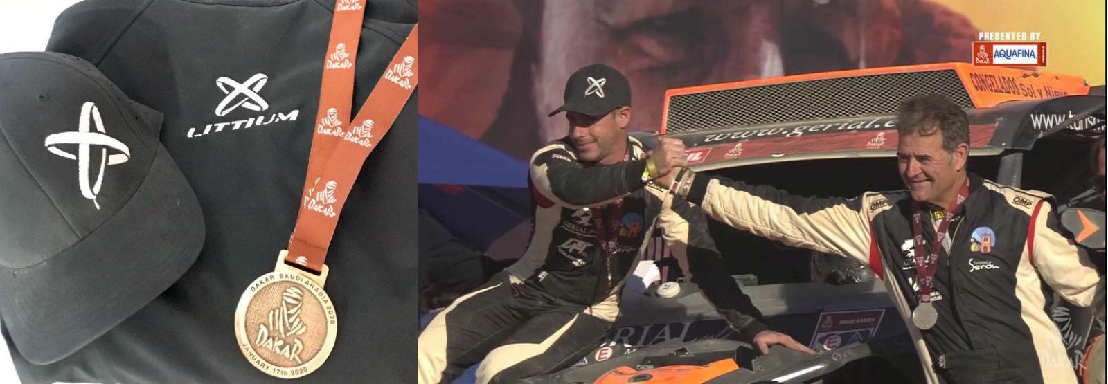 Littium y el Dakar: triunfo total en el rally más legendario