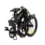 Littium Ibiza Dogma 03 black bicicleta plegable eléctrica