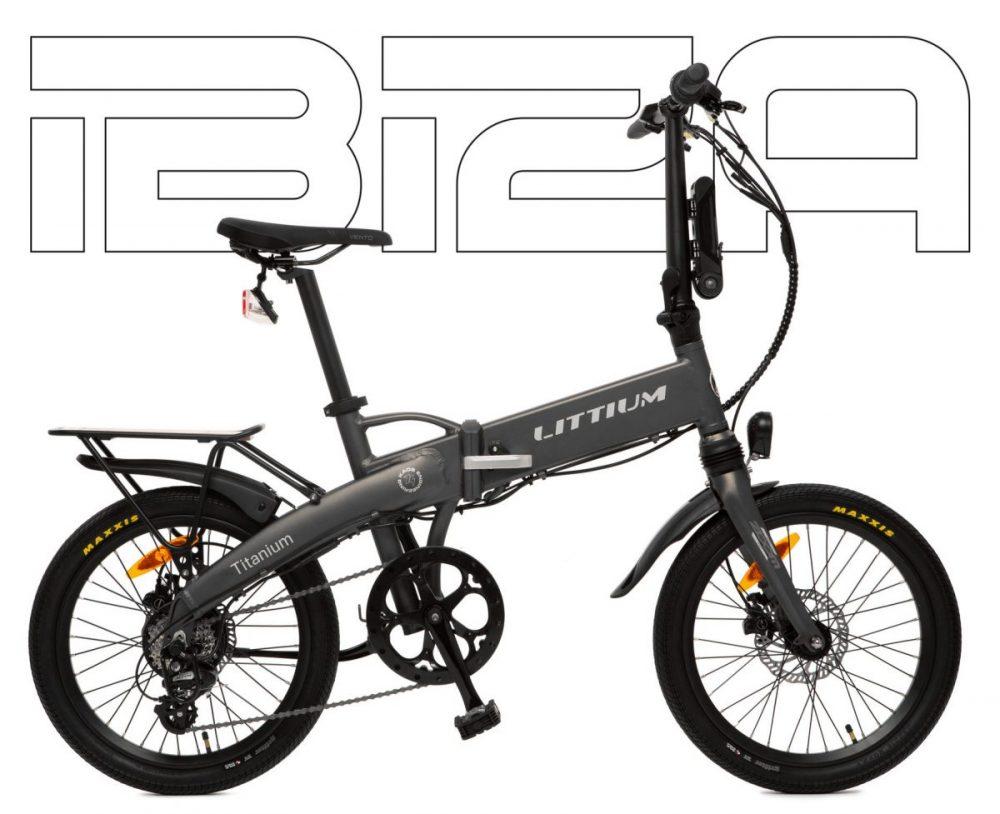 Littium Ibiza Titanium bicicleta eléctrica plegable