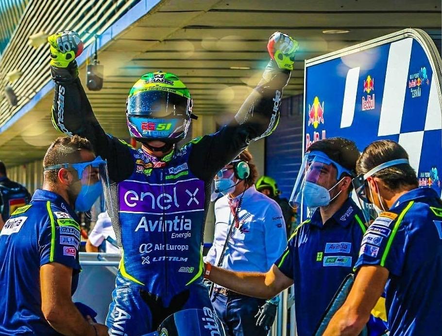Eric Granado ganador GP España Moto E