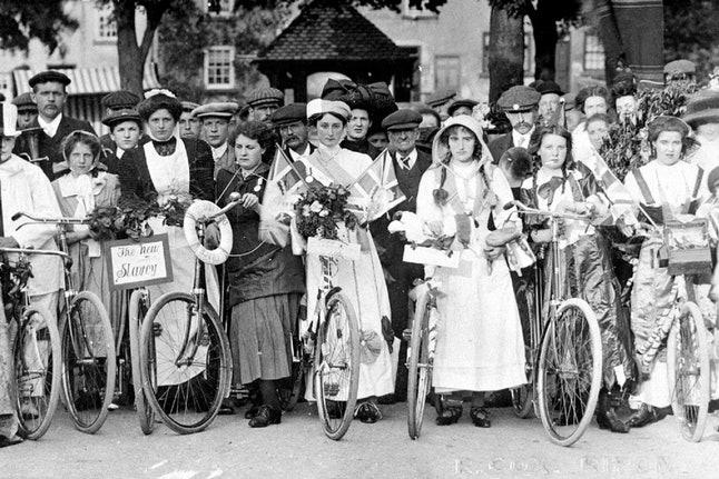 La bicicleta: símbolo de emancipación de la mujer