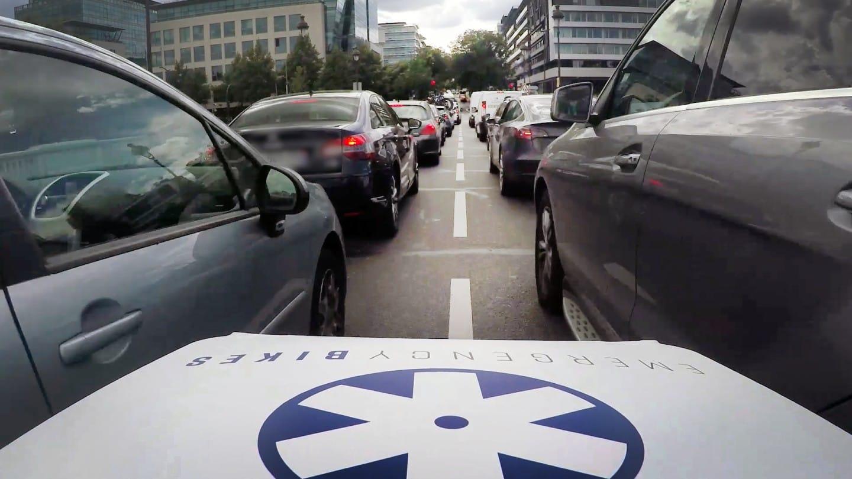La bicicleta ambulancia: el vehículo sanitario de dos ruedas