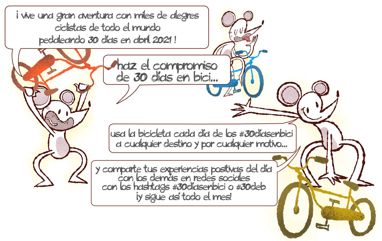 Compromiso 30 Días en Bici