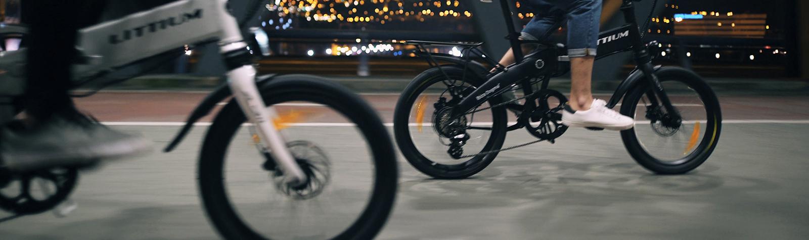 Circular en bicicleta por la ciudad